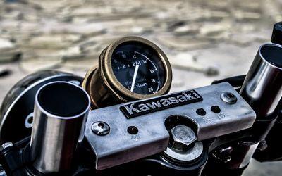 スピードメーター Z550GPカスタム